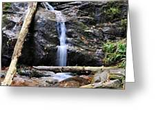 Crabtree Falls In Fall Greeting Card