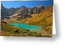 Cracker Lake Valley Greeting Card