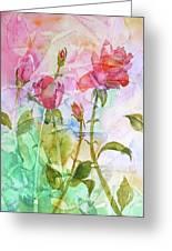 Cracklin' Rose Greeting Card