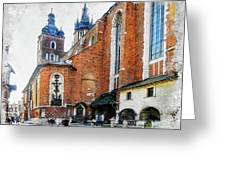 Cracow Art 1  Greeting Card
