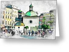 Cracow Art 3 Greeting Card