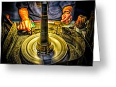 Craftsman Jewelry Maker Greeting Card