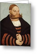 Cranach The Elder Greeting Card
