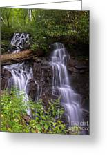 Cranberry Falls. Greeting Card by Itai Minovitz