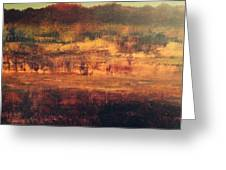 Cranberry Fields In November Greeting Card