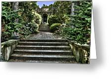 Cranbrook Staircase Greeting Card
