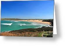 Crantock Bay Greeting Card