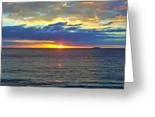 Crash Boat Beach  Greeting Card