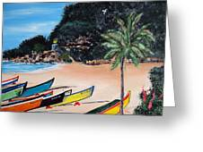 Crashboat Beach I Greeting Card