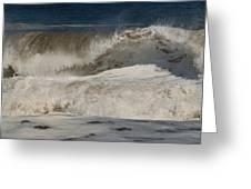 Crashing - Jersey Shore Greeting Card