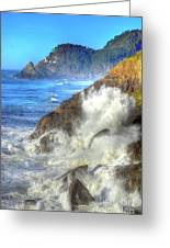 Crashing Waves 100 Greeting Card