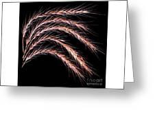 Grass Curve Greeting Card