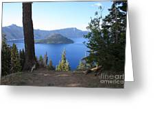 Crater Lake 11 Greeting Card