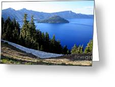 Crater Lake 12 Greeting Card
