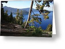 Crater Lake 9 Greeting Card