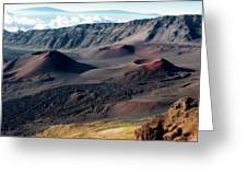 Crater Greeting Card