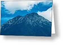 Crater Volcan De Agua Greeting Card