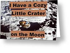 Crater1 Greeting Card