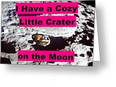 Crater12 Greeting Card