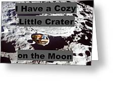 Crater14 Greeting Card