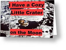 Crater15 Greeting Card