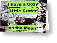 Crater18 Greeting Card