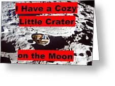 Crater2 Greeting Card