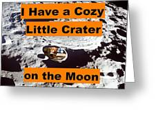 Crater3 Greeting Card
