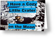 Crater30 Greeting Card