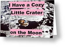 Crater38 Greeting Card