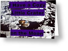 Crater9 Greeting Card