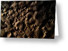 Craters Greeting Card