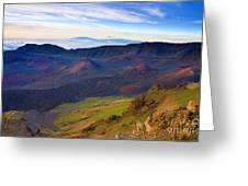 Craters Of Paradise Greeting Card
