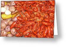 Crawfish Boil Greeting Card