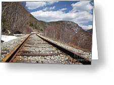 Crawford Notch State Park - Maine Central Railroad Greeting Card