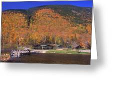 Crawford Notch Willey House Greeting Card