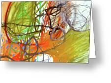 Crayon Scribble#3 Greeting Card