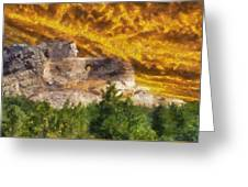 Crazy Horse Monument Pa Greeting Card