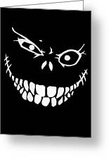 Crazy Monster Grin Greeting Card