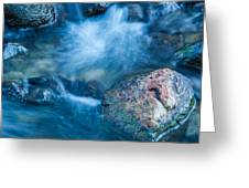Crazy Water Greeting Card