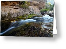 Crazy Woman Creek Greeting Card