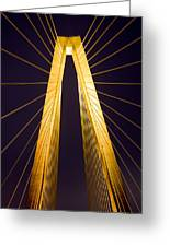 Crb Golden Tower Greeting Card