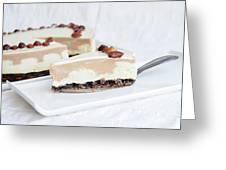 Cream Cake  Greeting Card