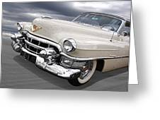 Cream Of The Crop - '53 Cadillac Greeting Card