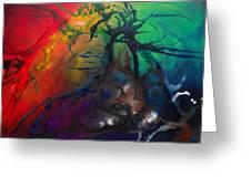 Creation Greeting Card by Darlene M Keeffe