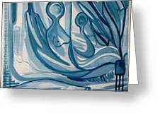 Creation Greeting Card by Otis L Stanley