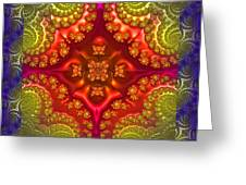 Creative Energy Mandala Greeting Card