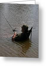 Creative Fishing Greeting Card