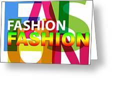 Creative Title - Fashion Greeting Card
