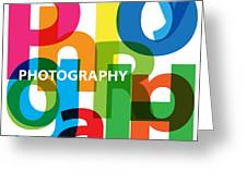 Creative Title - Photography Greeting Card